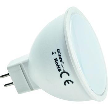 LED Spotlight MR16 5W 350lm Lampe 120° 50x55mm 12V AC DC SMD 2835 CRI80+