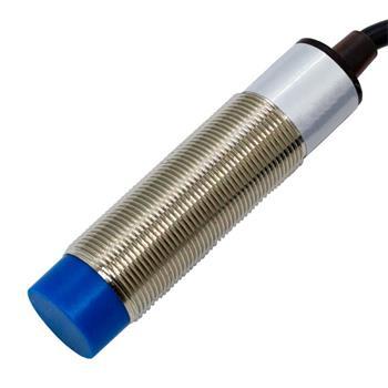 Näherungsschalter Induktiv 18mm M18 NPN Öffner 6...36V DC IP67 Sensor Messing vernickelt -30...+65°C