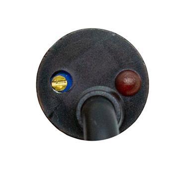Näherungsschalter Kapazitiv 30mm M30 NPN Öffner 6...36V DC IP67 Sensor Messing vernickelt -30...+65°