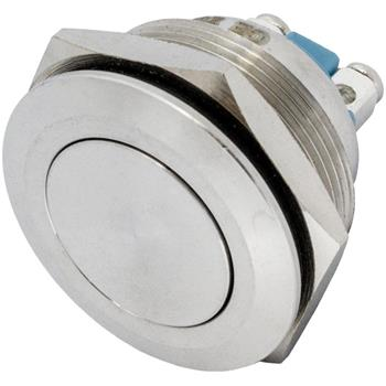V2A Taster 25mm flach Schraub