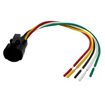 Steckverbinder für 16mm Taster Schalter 5x 0,5mm² Kabellänge: 140mm