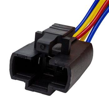 Steckverbinder für 22mm Taster Schalter 6x 0,5mm² Kabellänge: 140mm