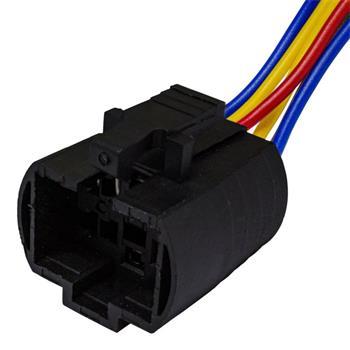 Steckverbinder für 25mm Taster Schalter 6x 0,5mm² Kabellänge: 140mm