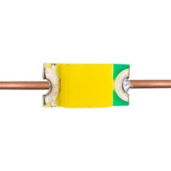 10x Superhelle LEDs SMD 0402 mit Kupferlackdraht 20cm + 12V Vorwiderstand