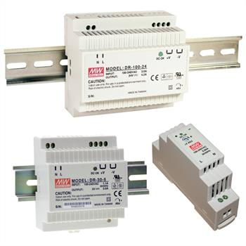 hutschienen netzteil 15w 15v 1a meanwell hdr 15 15 din rail trafo ebay. Black Bedroom Furniture Sets. Home Design Ideas