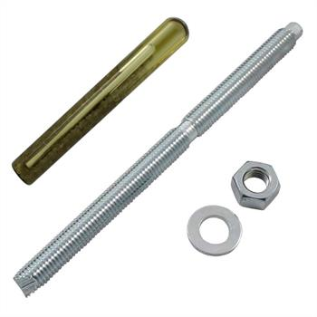 Anchor rod M12 x 180mm + Composite cartridge Chemical stud ; galvanized