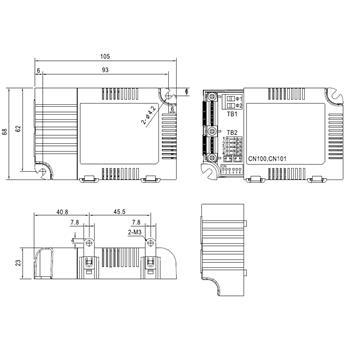 MeanWell LCM-25 25W 0-10V Dimmbar Konstantstrom LED Netzteil350/500/600/700/900/1050/1400mA
