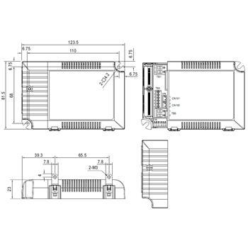 LED Netzteil dimmbar 0-10V / PWM ; MeanWell, LCM-40 ; Konstantstrom