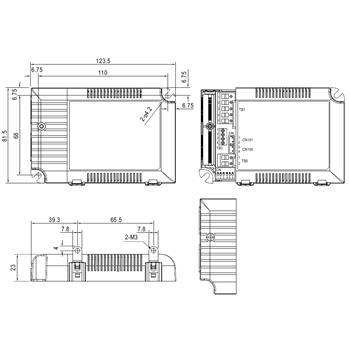 MeanWell LCM-40DA 42W Dali Dimmbar Konstantstrom LED Netzteil350/500/600/700/900/1050/1400mA