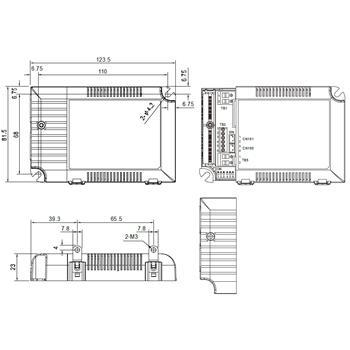 MeanWell LCM-60 60W 0-10V Dimmbar Konstantstrom LED Netzteil500/600/700/900/1050/1400mA