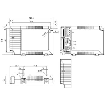 MeanWell LCM-60DA 60W Dali Dimmbar Konstantstrom LED Netzteil500/600/700/900/1050/1400mA