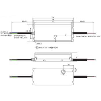 XLG-75-12-A 60W 12V 5A LED Netzteil IP67