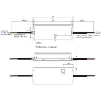 XLG-100-12-A 96W 12V 8A LED Netzteil IP67