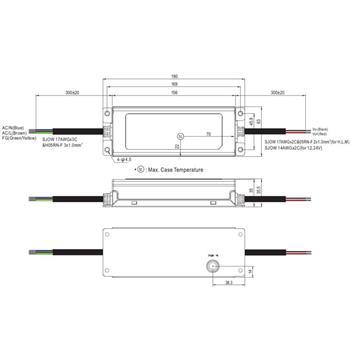 XLG-150-12-A 150W 12V 12,5A LED Netzteil IP67