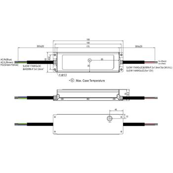 XLG-200-12-A 192W 12V 16A LED Netzteil IP67