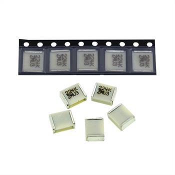 SMD Folien-Kondens. 0,22µF 50V 6x3mm