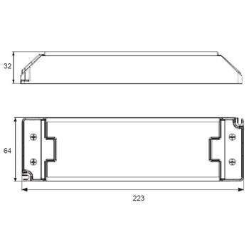 SLD120-24VL-E 120W 24V 5A LED Netzteil Triac Dimmbar