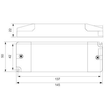 SLD30-12VL-E 30W 12V 2,5A LED Netzteil Triac Dimmbar