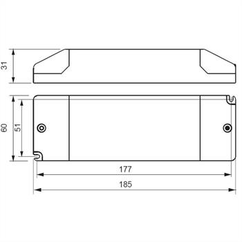 SLD75-12VL-E 75W 12V 6,25A LED Netzteil Triac Dimmbar