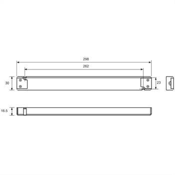 LED Netzteil 24V 100W 4,17A für Möbel extrem flach 16,5mm ; Self SLT100-24VFG-UN