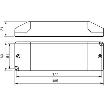 LED Netzteil 24V 75W 3,1A ; Self SLT75-24VL-E ; Schaltnetzteil Treiber Trafo