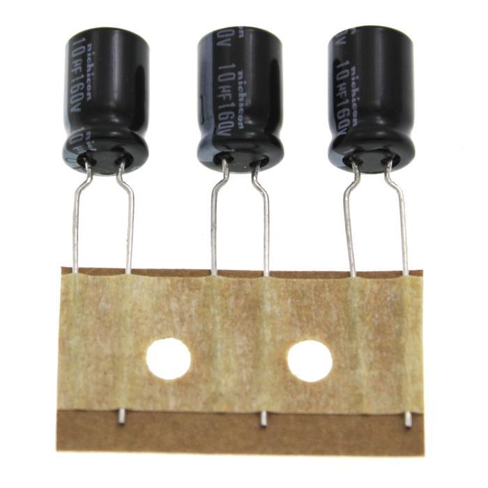 Elko Kondensator radial 10µF 160V 105°C ; UVZ2C100MPH1TA ; 10uF