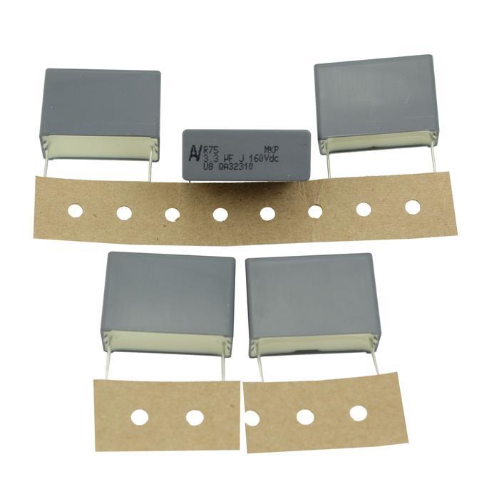 MKP-Kondensator radial 3,3µF 160V DC ; RM27,5 ; R75GR4330CK00J ; 3,3uF