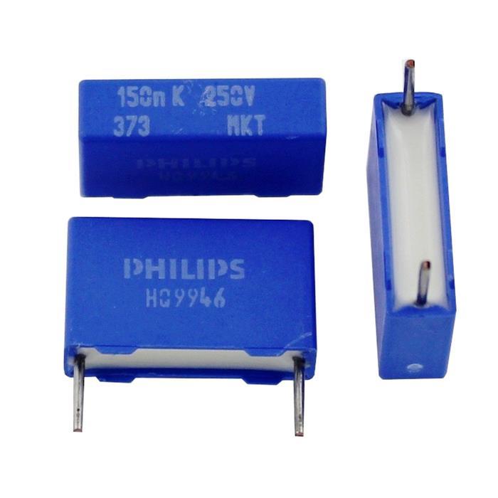 Mkt capacitor rad 015f 250v dc 15mm 222237341154 150nf sciox Choice Image