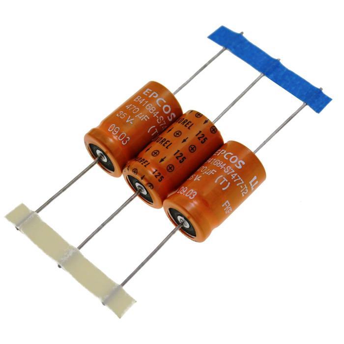 Elko Kondensator axial 470µF 35V 125°C ; B41684S7477T002 ; 470uF