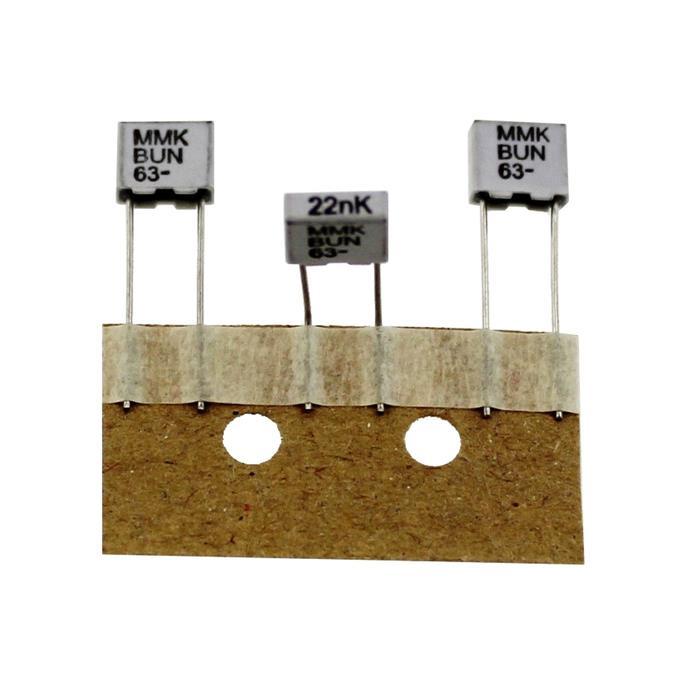 MMK-Kondensator radial 22nF 63V DC ; RM5 ; MMK5223K63J01TR18 ; 22000pF