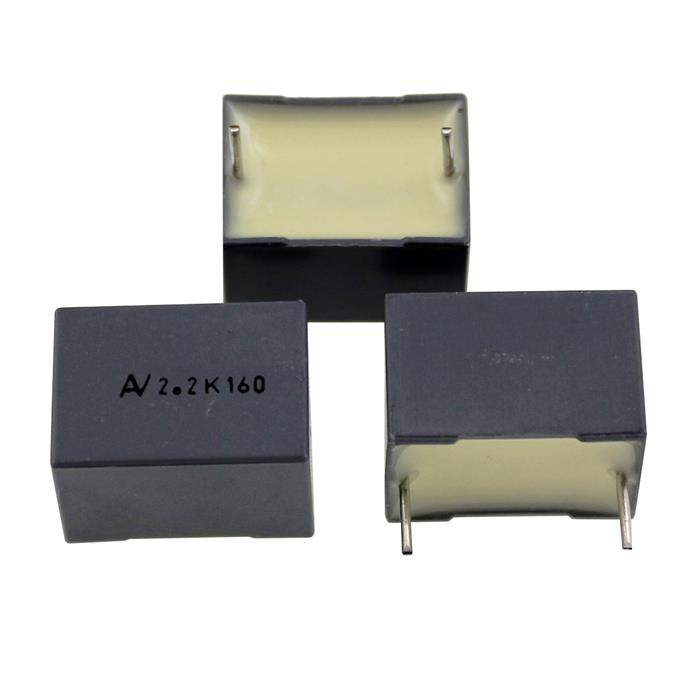 MKT Folien Kondensator Radial 2,2µF 160V DC Arcotronics R60GI4220AAL0K 2200nF