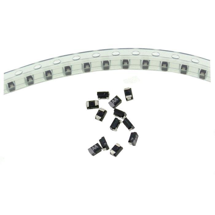 Tantal Kondensator SMD A 1µF 10V 125°C 3,2x1,6mm Nichicon F921A105MPA 1uF