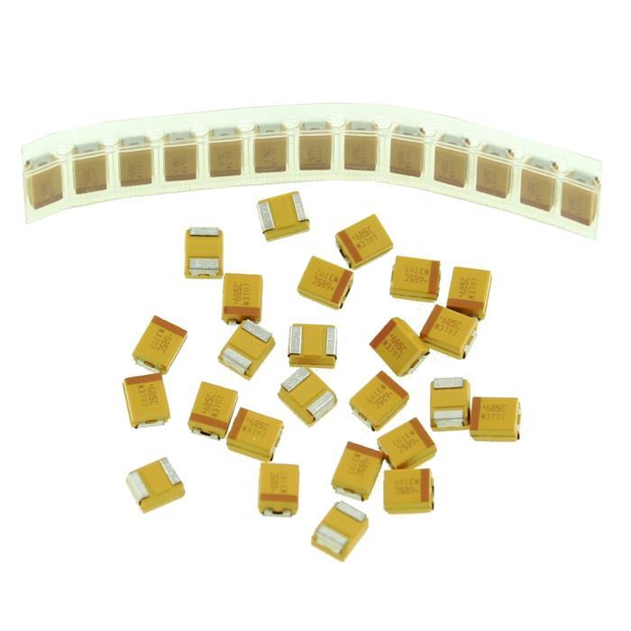 Tantal Kondensator SMD B 6,8µF 16V 125°C 3,5x1,9mm AVX TAJB685M016R 6,8uF