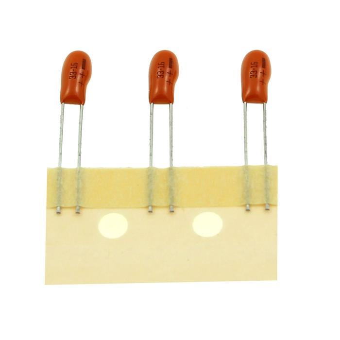 Tantal Kondensator Radial 33µF 16V 125°C Vishay 489D336X0016E2A 33uF