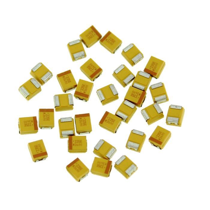 Tantal Kondensator SMD B 3,3µF 25V 125°C 3,5x1,9mm AVX TPSB335K025R2000 3,3uF