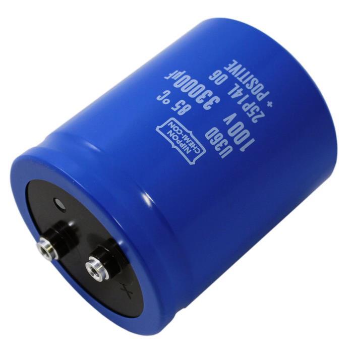 Schraub Elko Kondensator Radial 33000µF 100V 85°C E36D101HPN333ME92U d76x92mm 33000uF