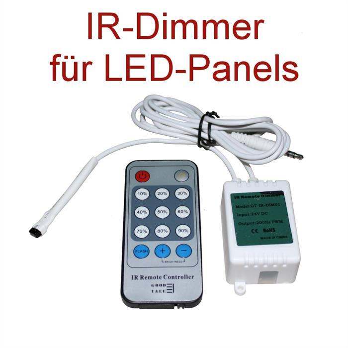 infrarot ir dimmer f r led panels. Black Bedroom Furniture Sets. Home Design Ideas