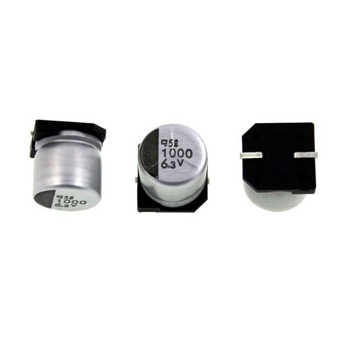 SMD Elko Kondensator 1000µF 6,3V 85°C EMV-6R3ADA102MJA0G d10x10mm 1000uF