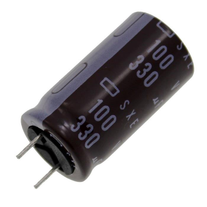 Elko Kondensator radial 330µF 100V 105°C ; ESXE101EC5331ML30S ; 330uF