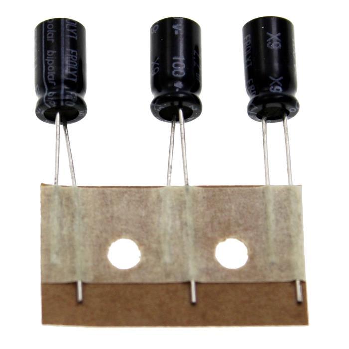 Elko Kondensator Radial 2,2µF 100V 105°C EKSU420 d6,8x12,5mm 2,2uF