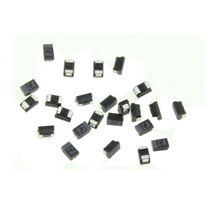 Tantal Kondensator SMD P (0805) 1µF 16V 125°C 2x1,2mm Hitachi TMCP1C105MTRF 1uF