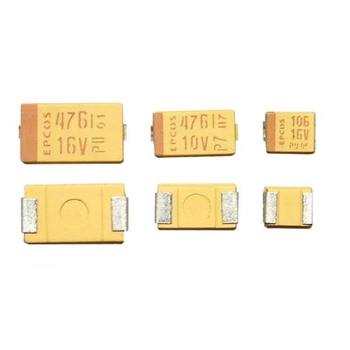 Tantal Kondensator SMD C 47µF 16V 125°C 6x3,2mm Hitachi TMCMC1C476MTRF 47uF