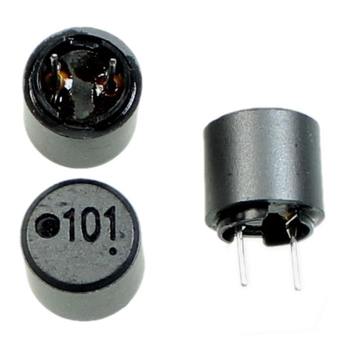 Drossel Radial 100µH 900mA 10,5x10mm Taiyo Yuden LHLP10NB101K