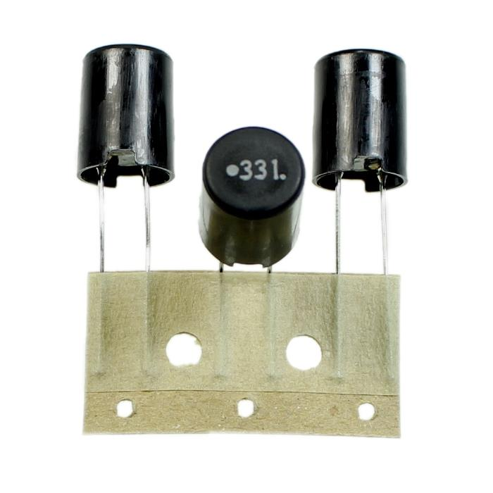 Drossel radial 330µH 680mA ; RM5 d10x14mm ; LHL10TB331K ; 330uH