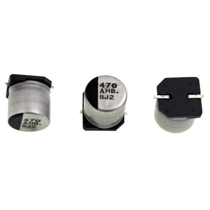 SMD Elko Kondensator 470µF 10V 105°C ; EEEHB1A471AP ; 470uF
