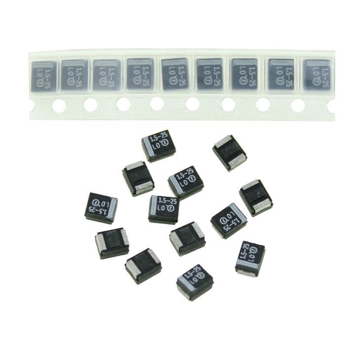 Tantal Kondensator SMD B 1,5µF 25V 125°C 3,5x1,9mm Vishay 293D155X9025B2T 1,5uF