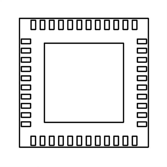 4ch. Transceiver IC IC NSC DS92LV040ATLQA LQA44A (SMD)