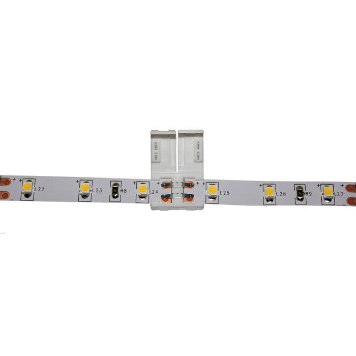 verbinder connector f r led streifen 8mm 1 clip. Black Bedroom Furniture Sets. Home Design Ideas