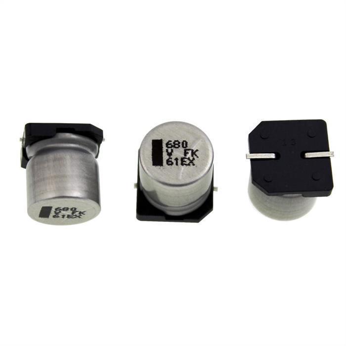 SMD Elko Kondensator 680µF 35V 105°C ; EEVFK1V681Q ; 680uF