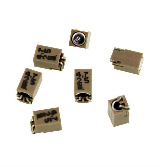 SMD Elko Kondensator 4,7µF 25V 85°C ; EMF250CDA4R7MB50G ; 4,7uF